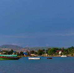 Costa de Bangwe en la ciudad de Kigoma, Tanzania