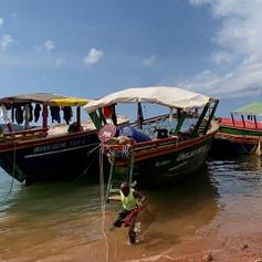 Puerto de Kibirizi en Kigoma, Tanzania