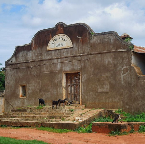 El antiguo Cine Atlas de Ujiji en Kigoma, Tanzania
