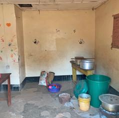 Actual zona habilitada en la actual escuela de VCRO ara cocinar
