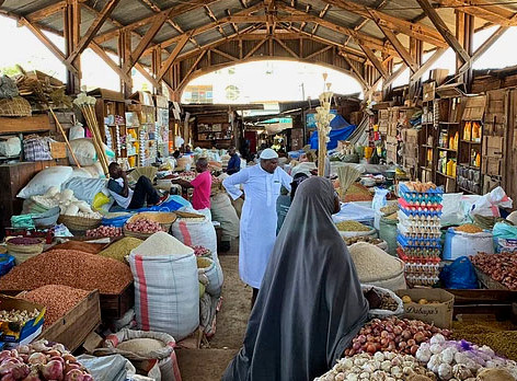 Mercado de Kigoma Mjini, Tanzania