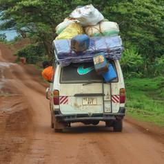 Carretera de Kasulu a Burundi, región de Kigoma