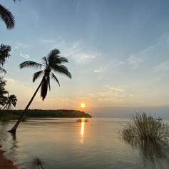 Playa de Bangwe en Kigoma, Tanzania