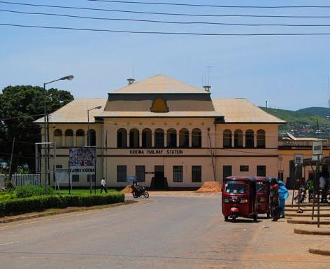 La estación de tren de Kigoma, Tanzania