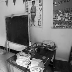 La actual única aula de la escuela VCRO de Rusimbi en Kigoma