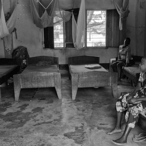 Dormitorio actual en el KPCS de Kabanga, Kigoma