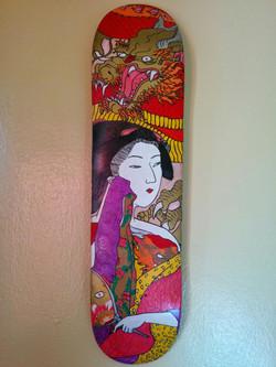 golden dragon geisha