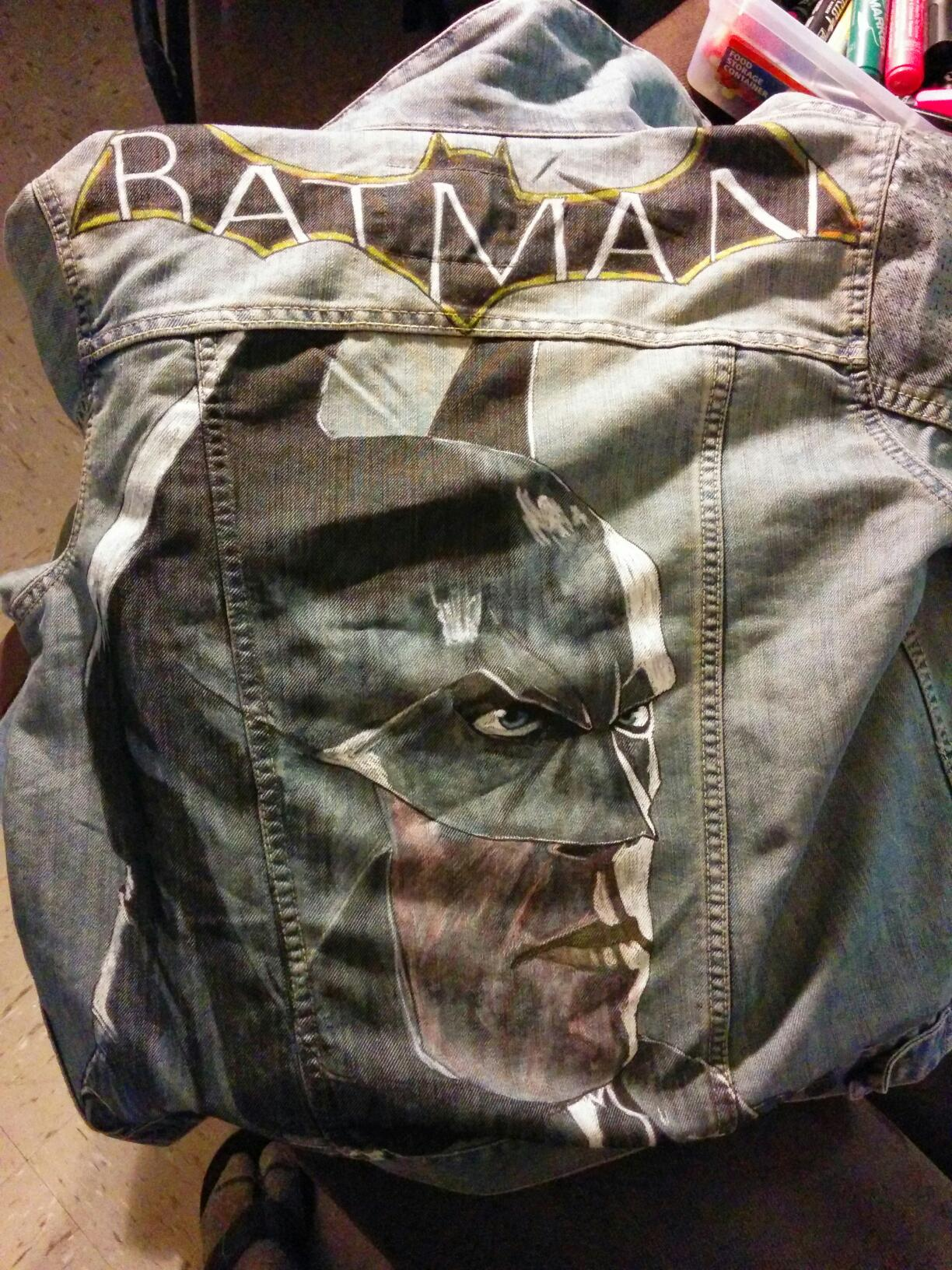 Batman game jacket