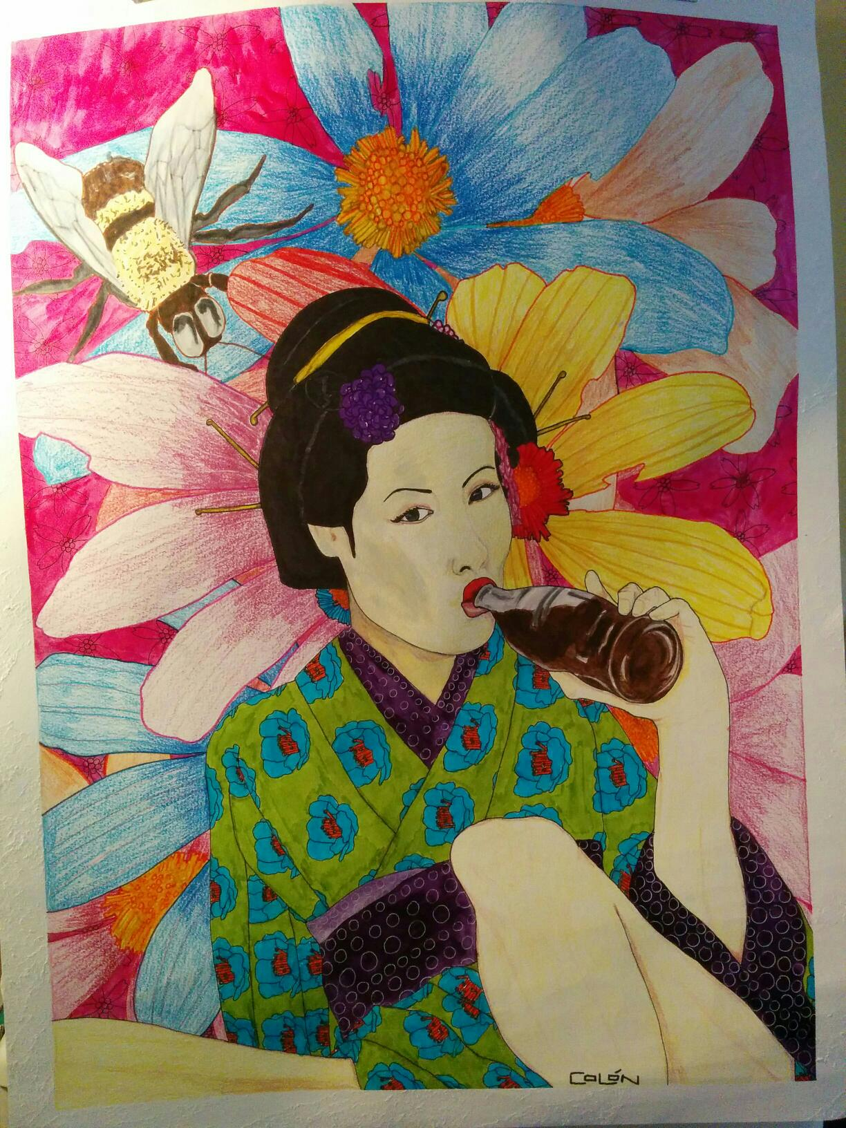 coke geisha