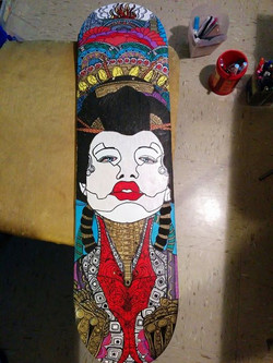 robot geisha