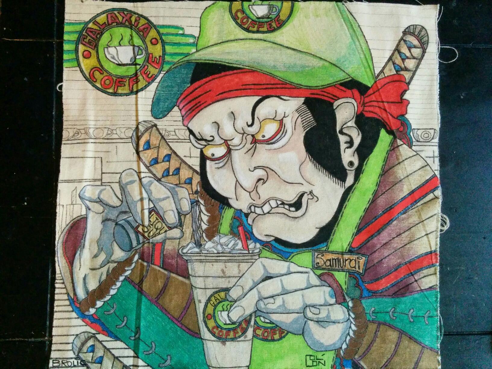 Samurai Barista