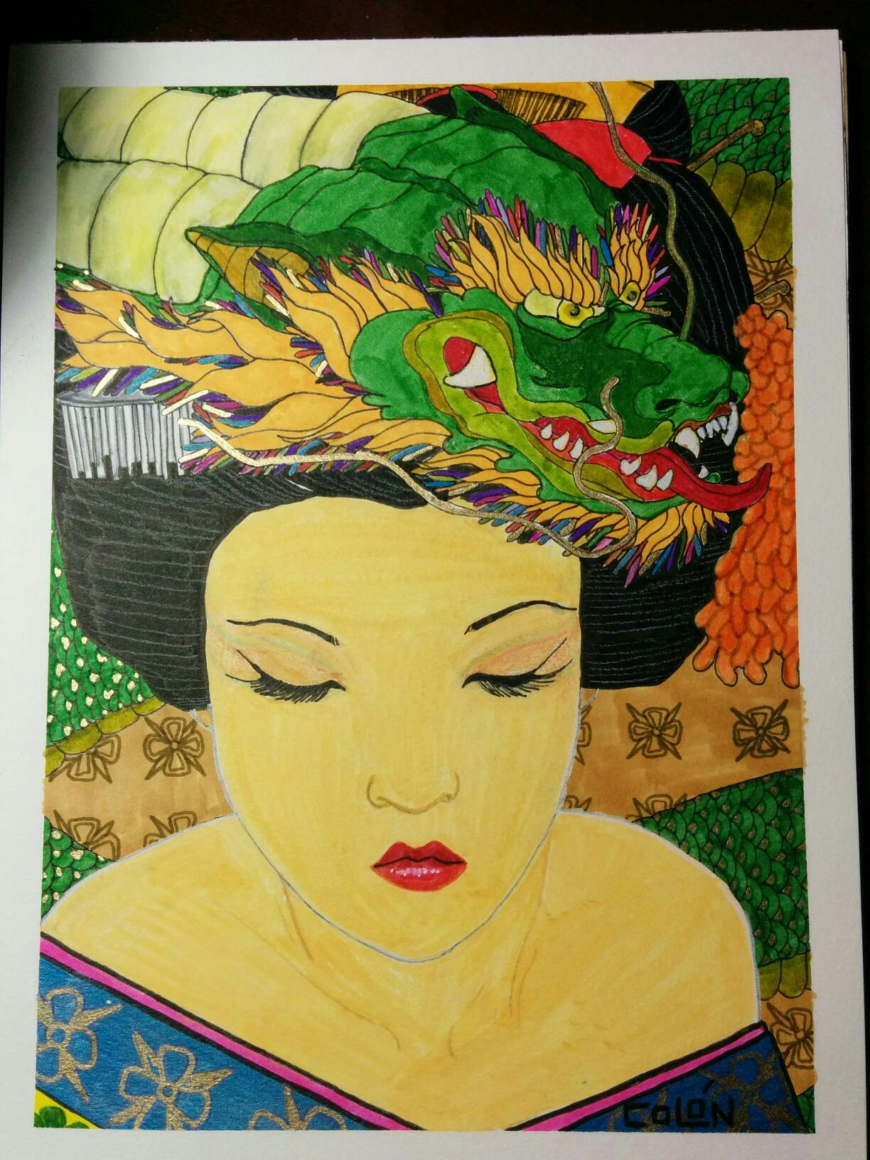 dragon geisha