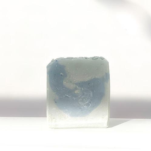 Jabón azul ultra marino fragancia masculina