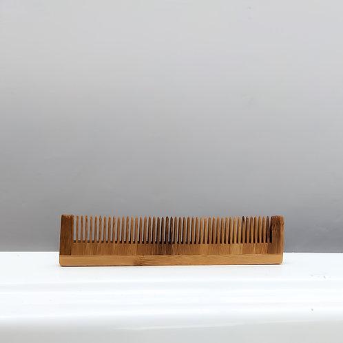 Peine de bambú para cabellos