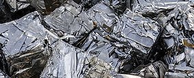Raw material - Metal cubes