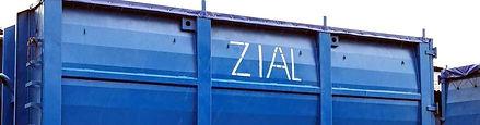 Zial Metal Scrap Container