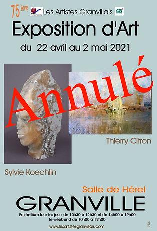 Affiche Annulation LAG Avril 2021projet