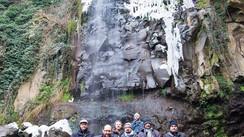 Uscita fotografica alla cascata ghiacciata