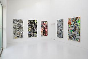 小林丈人 / 個展「声の際」 2019 gallery21yo-j 展示風景