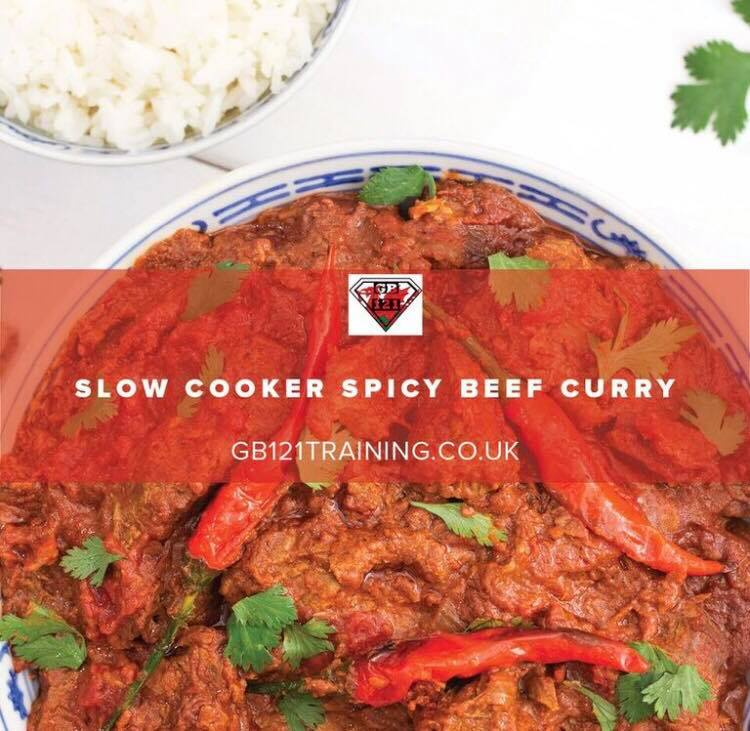 slow cooked curry