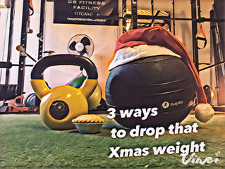 3 ways to drop those Xmas pounds