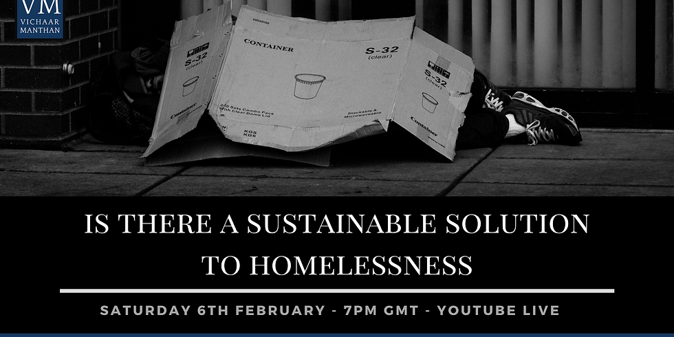 Is there a sustainable solution to homelessness?