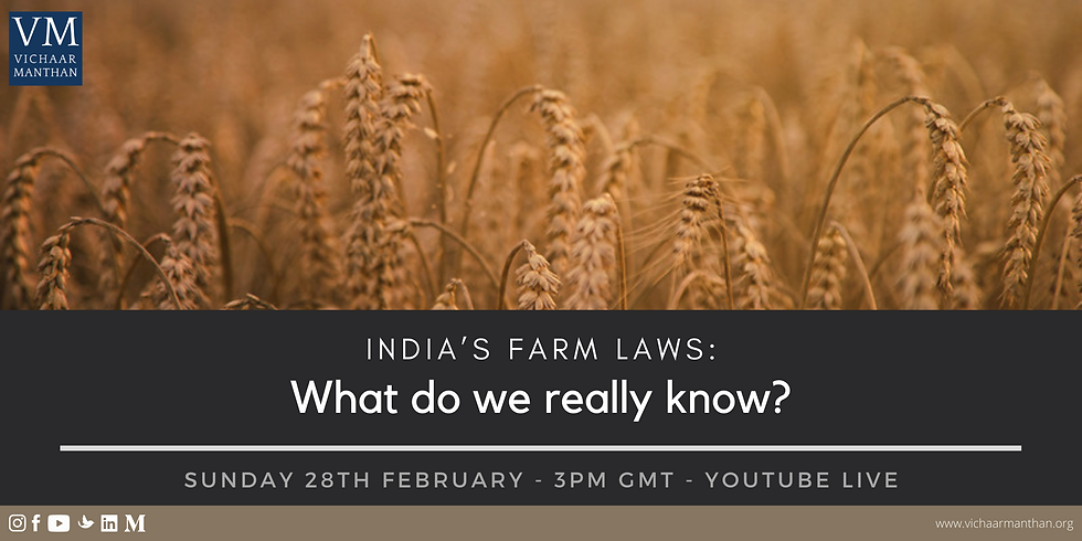 India's farm laws: What do we really know?