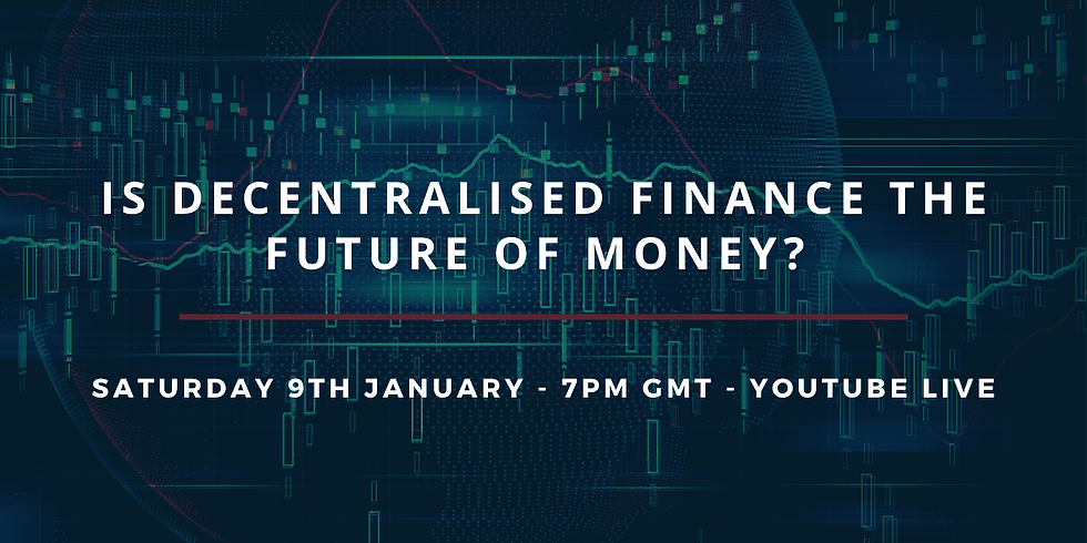 Is Decentralised Finance the Future of Money?