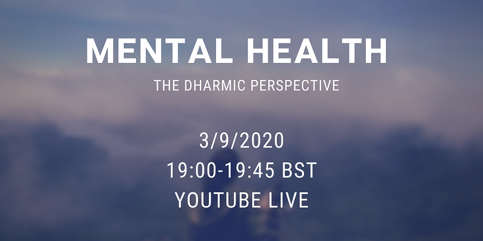 Mental Health - A Dharmic perspective