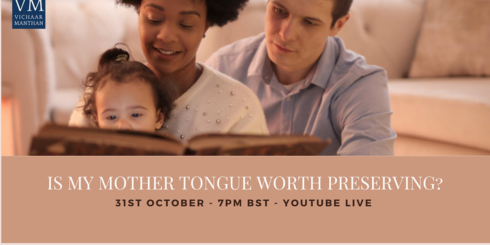 Is my Mother tongue worth preserving ?