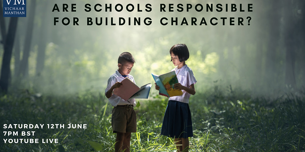 Are Schools Responsible For Building Character?