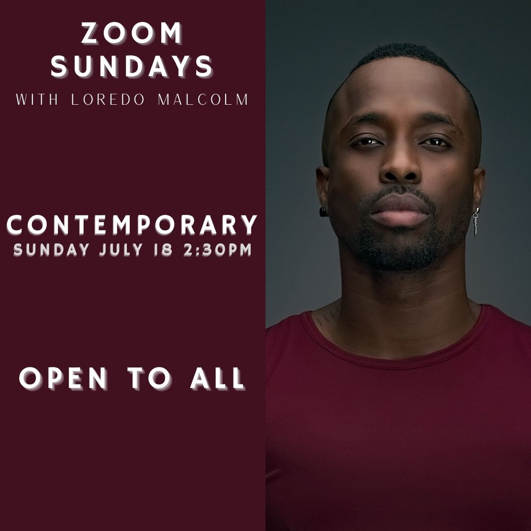 Zoom Sunday Contemp July 18th 2:30PM