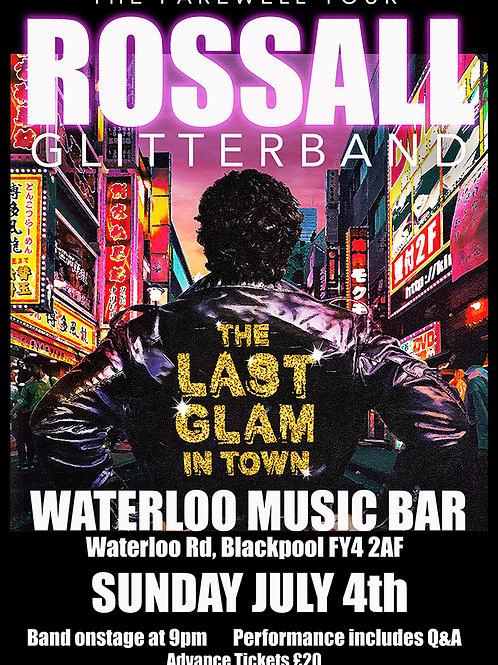 Ticket - Waterloo Bar 040721