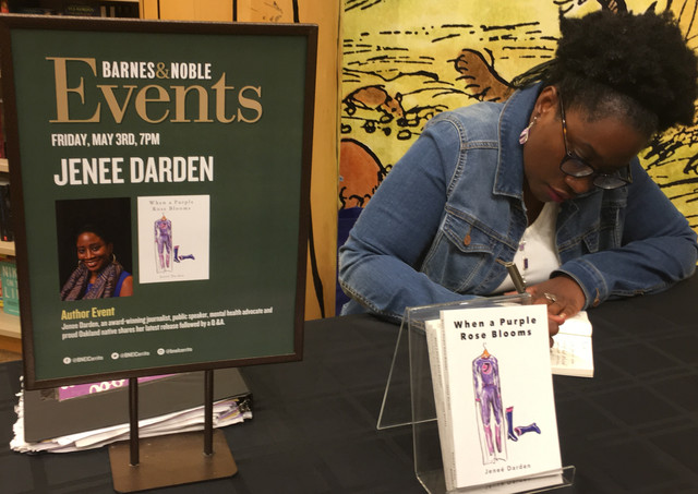 Jenee Darden is the author of When a Purple Rose Blooms. She is published in several books.