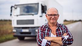 Lastbil chaufför med läkarintyg