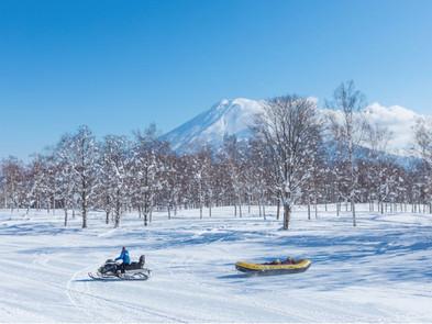 在二世古除了滑雪以外...