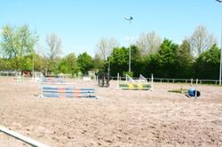 Springplatz mit Flutlicht 30 x 70 m