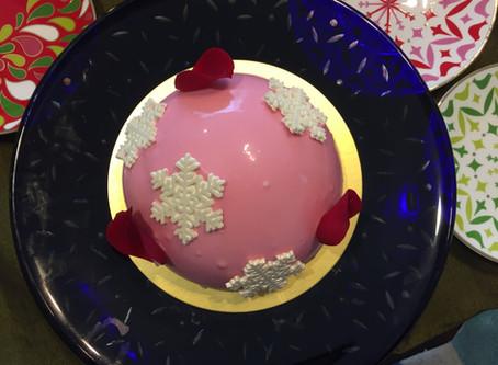 今年のお礼とクリスマスケーキ。