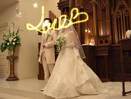 令和の花嫁。似合うウエディングドレスとブーケ