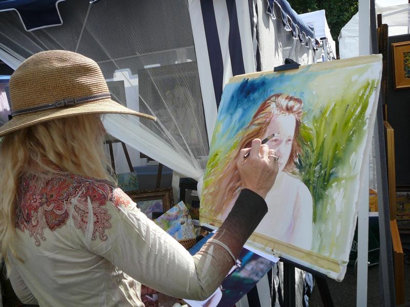 Hyde Park Art Show 2009