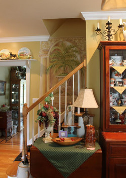 decorative painting from kitchen