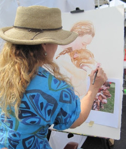 Tamara painting 2011
