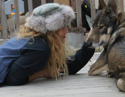 Tamara & new friend Jazelle 2012