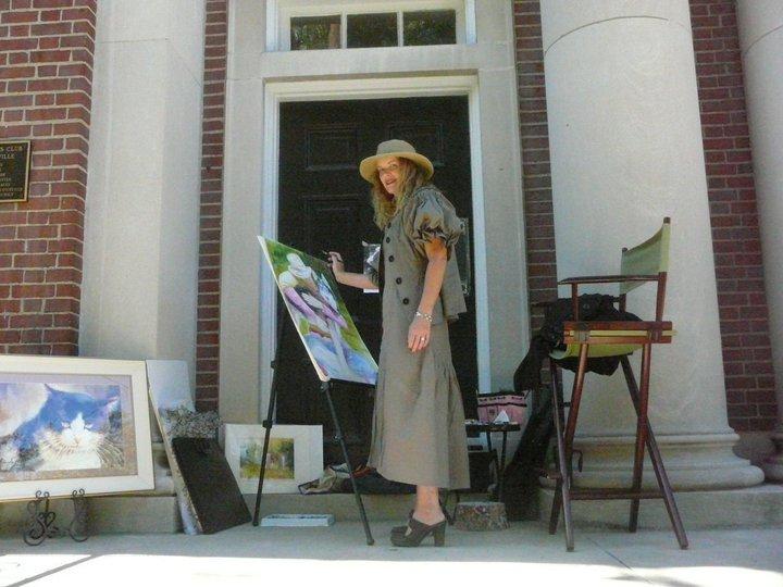 Tamara painting 2010