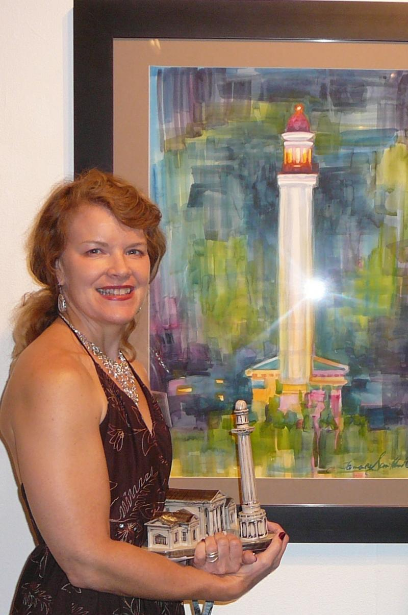 """Tower at Night"" 2D award"