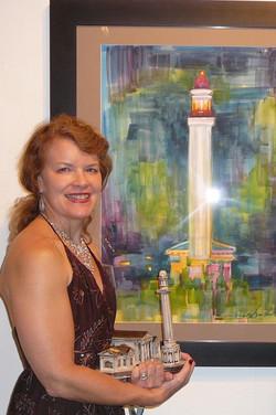 """""""Tower at Night"""" 2D award"""
