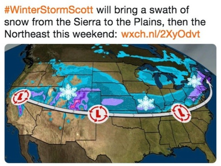 Becoming A Winter Storm - In Name Only