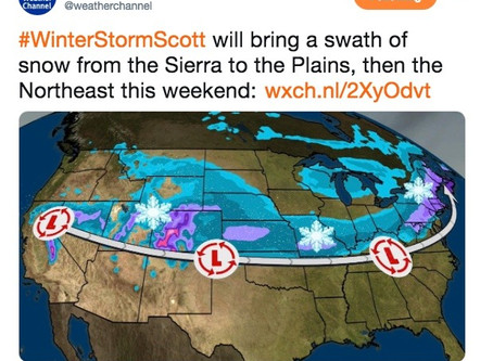 I Became a Winter Storm - In Name Only