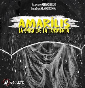 A-Marte - Amarílis - Adriano Messias - Autor Brasilero - Cuentos cortos de terror