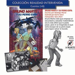 Bruno Marte - Rodrigo Moral - Salvar al mundo - Ciencia ficción - Crisis escolar